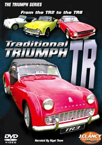 Traditional Triumph TR - Double DVD