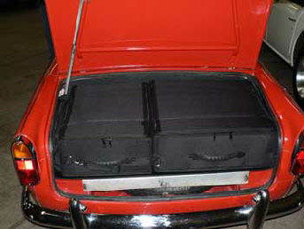 TR4 and TR4A Fitted Luggage H/A