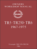 Triumph TR5, 250 & TR6 Glovebox Manual